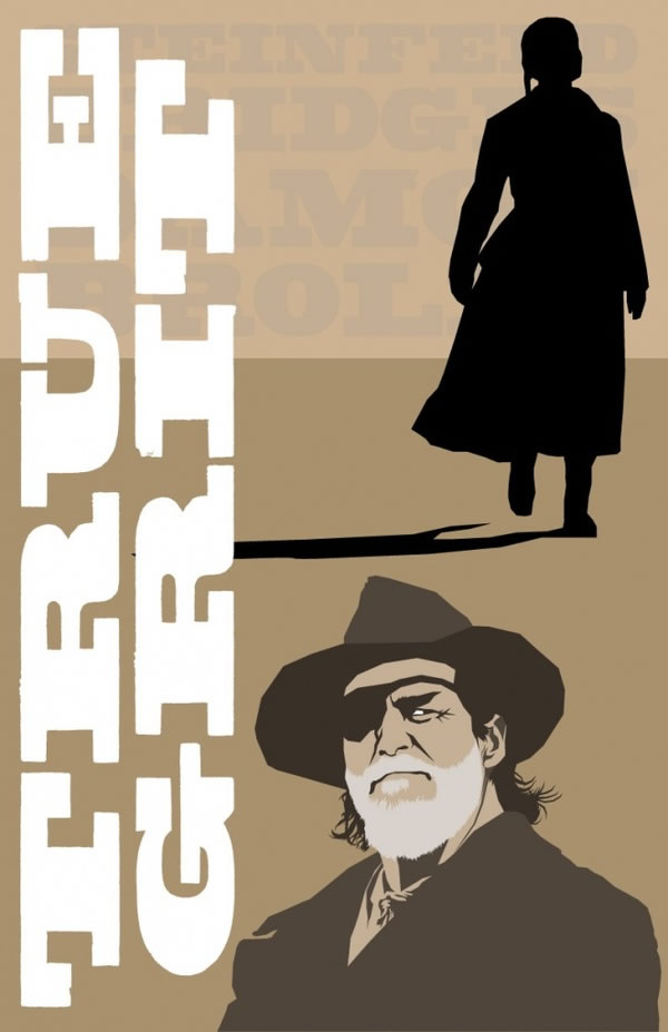 true grit Coen Brothers Poster Series