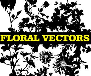 Free Floral Silhouette Pack