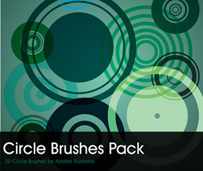 Circles Brush Pack for illustrator free