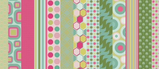 Mellow Mint comes with 16 Patterns