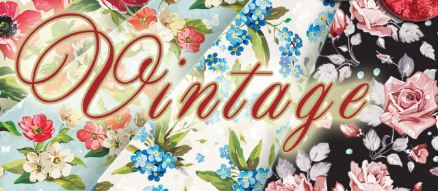 Vintage Floral Patterns comes with 5 Patterns