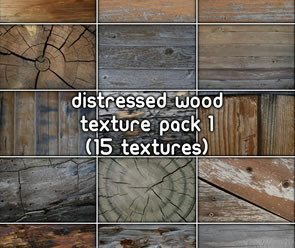 free Distressed Wood Pack texture