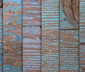 Free Weathered Blue Wood Texture