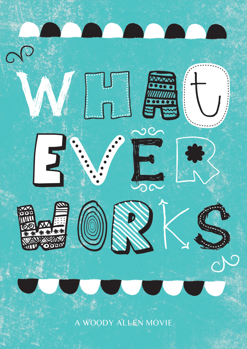whatever works Woody Allen Posters remake film