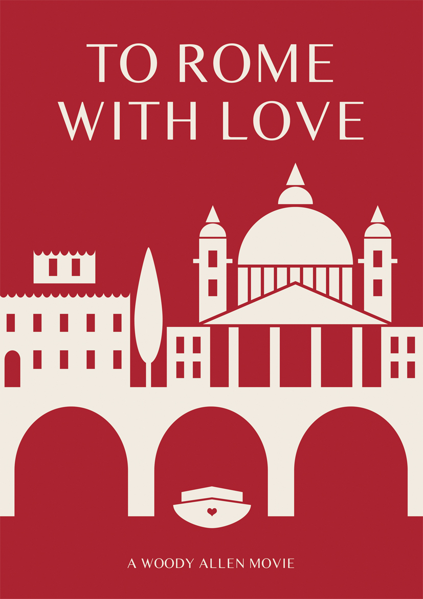to rome with love Woody Allen Posters remake film