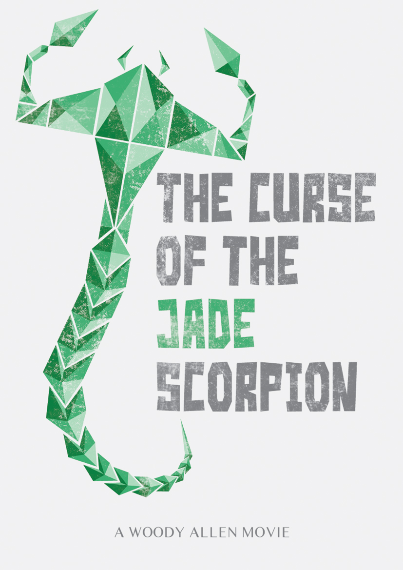 the curse of the jade scorpion movie poster by woody allen