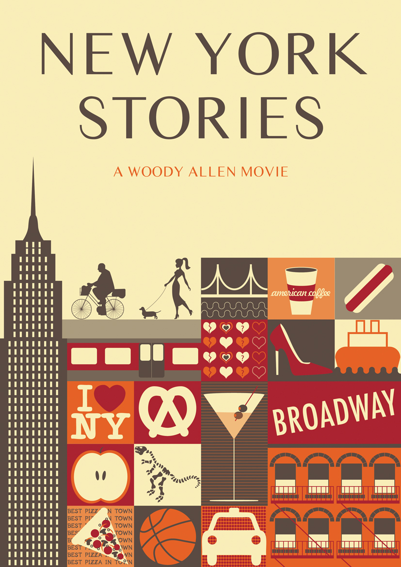 new york stories Woody Allen Posters remake film