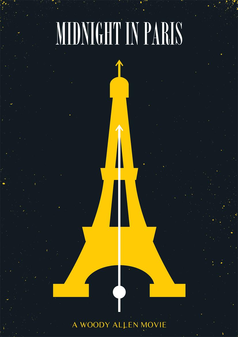 midnight in paris Woody Allen Posters remake film