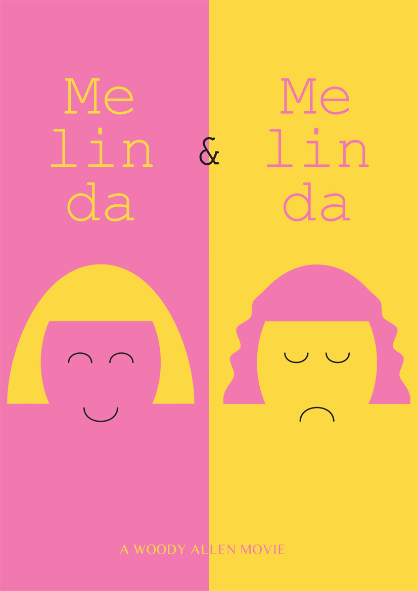 melinda movie poster by woody allen