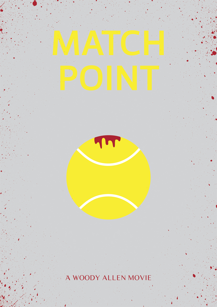 match point Woody Allen Posters remake film