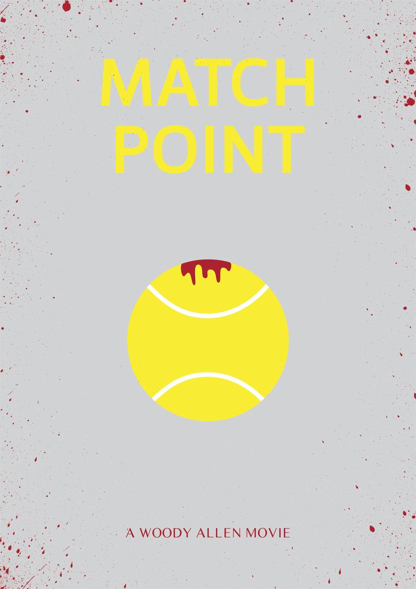 match point Woody Allen Posters remake film