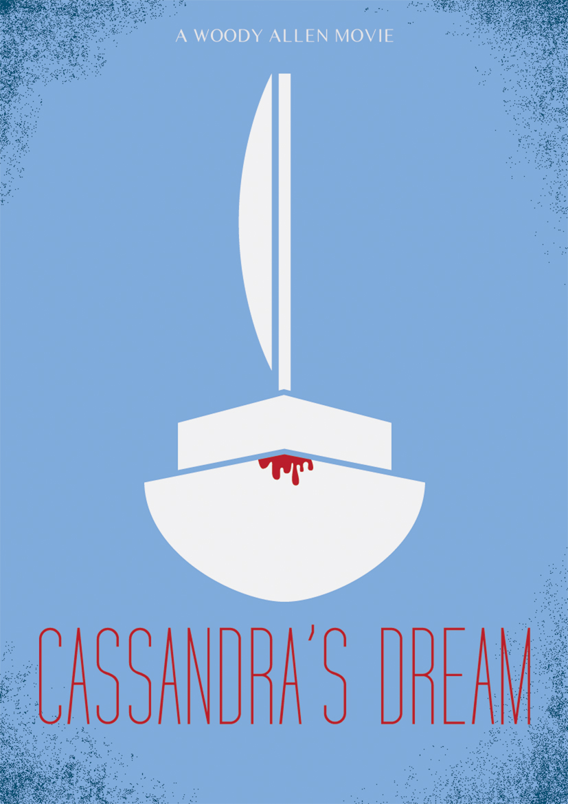cassandras dream movie poster by woody allen