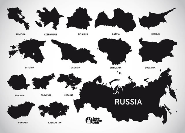 30 high quality free world map templates european countries map template ai eps svg gumiabroncs Gallery
