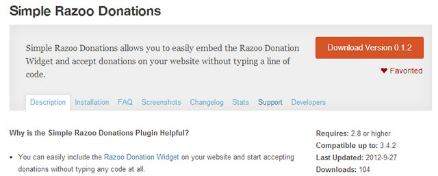 Your wordpress plugin's name & readme.txt helps your rank