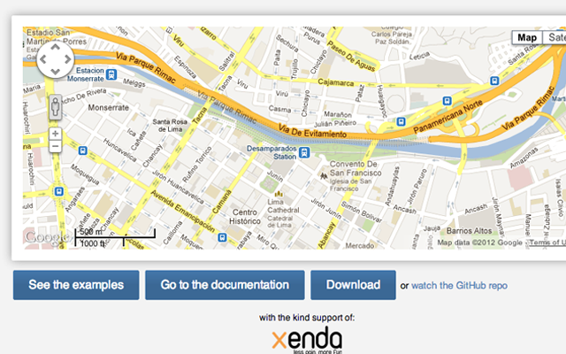 Google Maps JavaScript library scripting