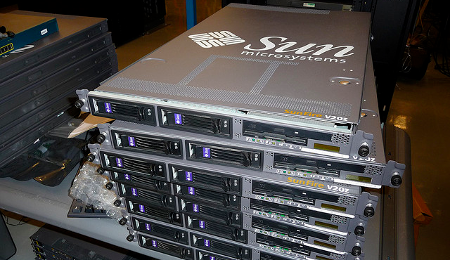Equinix Sun Microsystems rack servers hardware