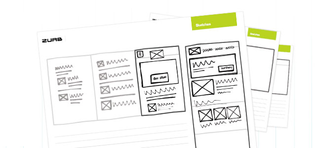 Zurb's Responsive Sketchsheets are great for designing how your application will look at different device sizes