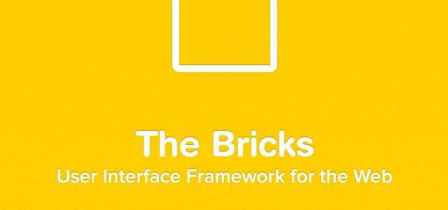 The Bricks is a massive template of design elements that look really nice