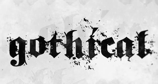 Gothical by Pi Luo Chiu is a free gothic font for designers