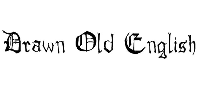 Drawn Old English Is A Free Gothic Font For Designers