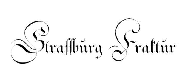 Strassburg Fraktur is a free gothic font for designers