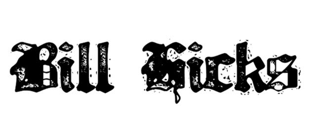 Bill Hicks is a free gothic font for designers