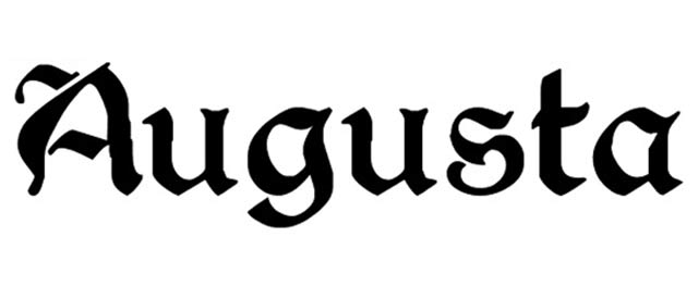 Augusta is a free gothic font for designers