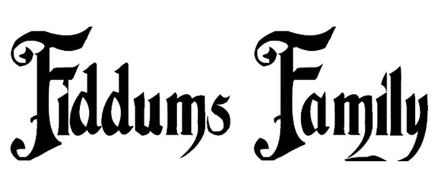 Fiddums Family is a free gothic font for designers