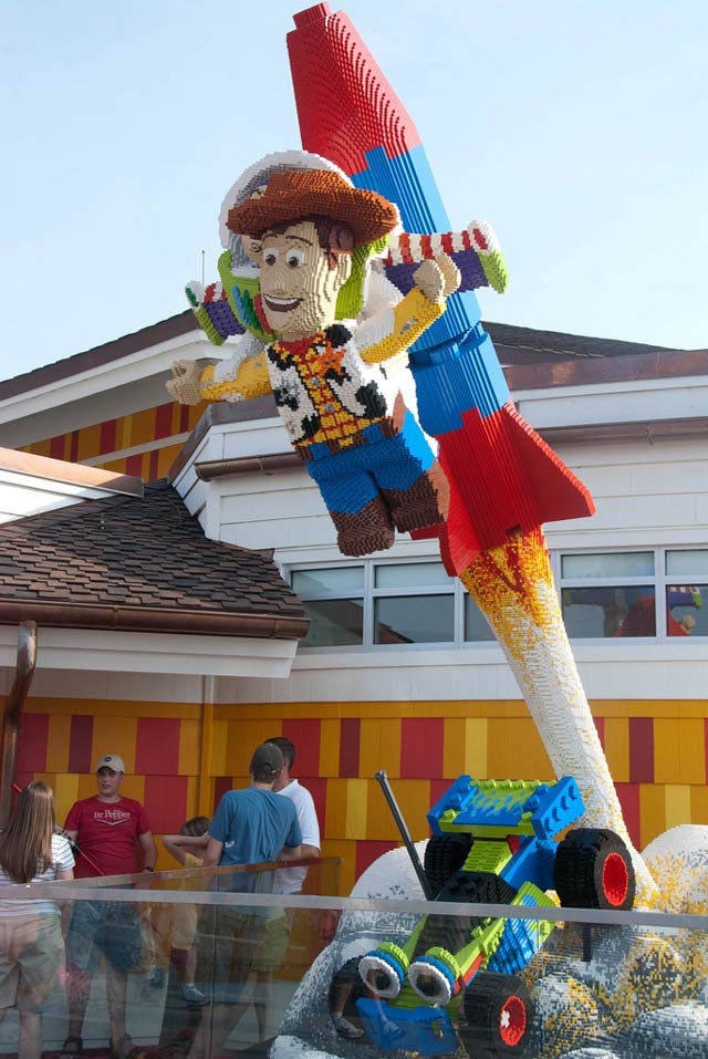 Toy Story Lego Sculpture