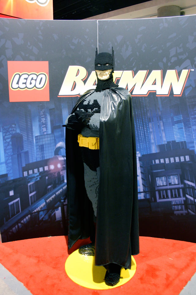 Batman Lego sculpture