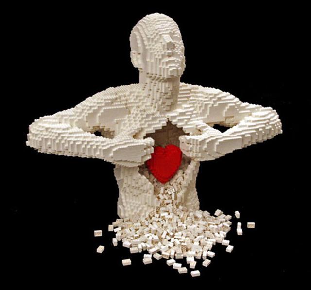Nathan Sawayas sculpture