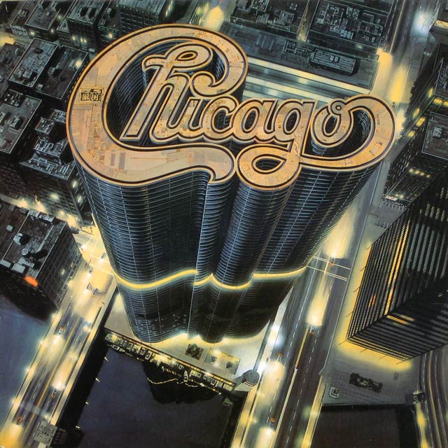 Chicago typographic cd cover design inspiration