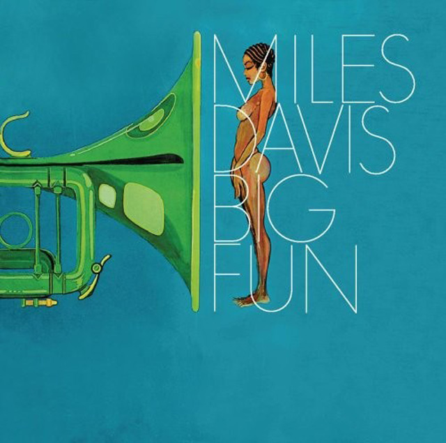 Miles Davis typographic cd cover design inspiration