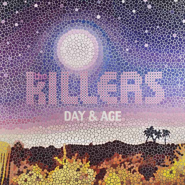 The Killers Day & Age typographic cd cover design inspiration