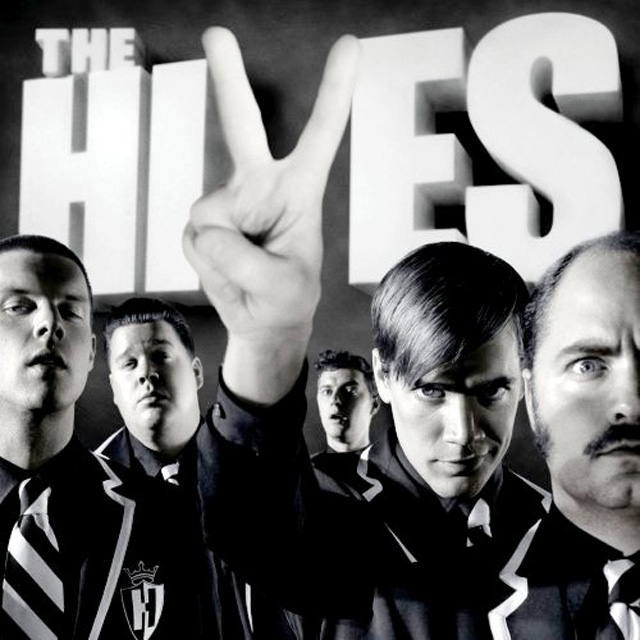 The Hives Put Entire typographic cd cover design inspiration
