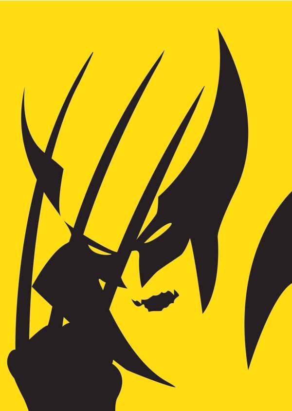 Minimalist DC & Marvel Superhero Posters
