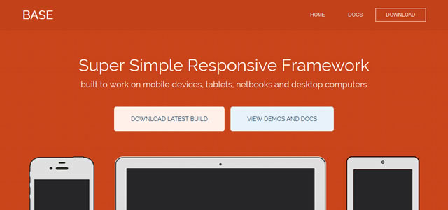 Base Framework is a Responsive Grid Framework Web Development Resources Web Development Resources