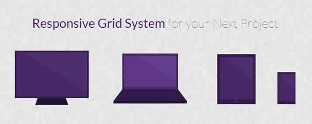 RWD Grid is a Responsive Grid Framework