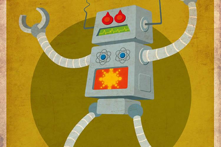 30 Amazing Robots Illustrations
