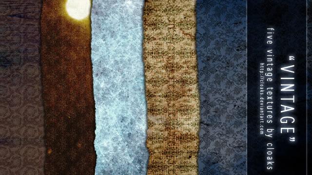 Vintage Texture Pack 5 Textures