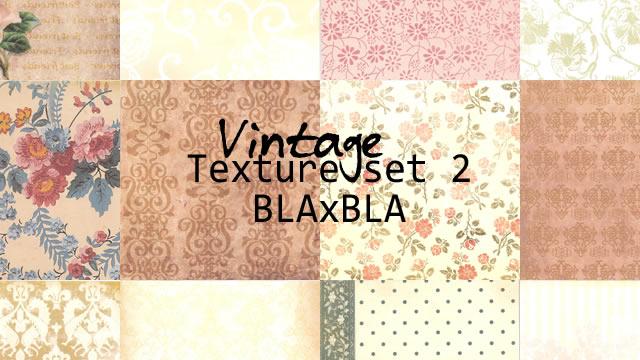 Vintage Texture Set 2 12 Textures