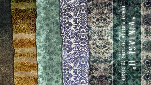 Vintage II Texture Pack 12 Textures