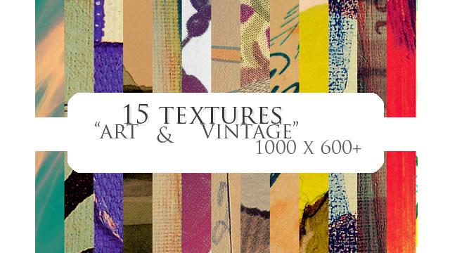 Art Vintage Textures 15 Textures