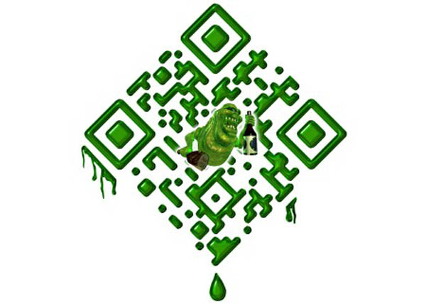 Ghost Busters inspirational QR code
