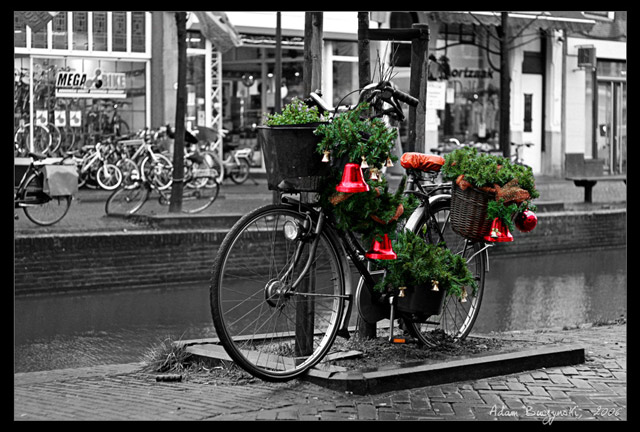 Christmas Bicycle in a gallery of Seasonal and Christmas Photography