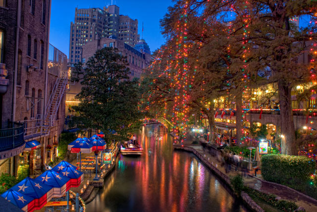 Christmas River walk in a gallery of Seasonal and Christmas Photography