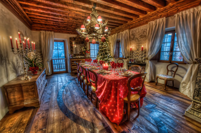 Villa a Valle in a gallery of Seasonal and Christmas Photography