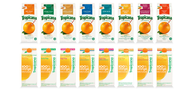 Tropicana orange juice brand a few years ago is a prime example of the subjectivity of design