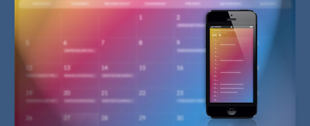 Calendario is an experimental jQuery plugin for trying out some grid layouts that can be applied to calendars