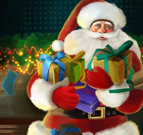 Painting a Santa Greeting Card Photoshop Tutorial